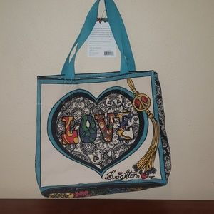 Brighton tote with tags